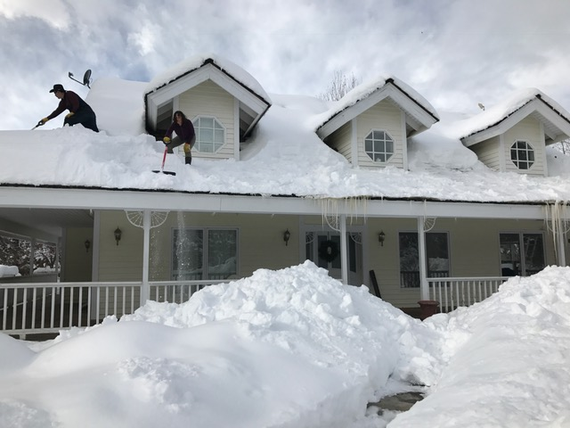Oregon Home Inspector Snow removal